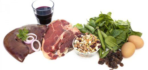 hierro en alimentos vegetarianos