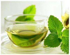 Remedios caseros con hojas de hierbabuena